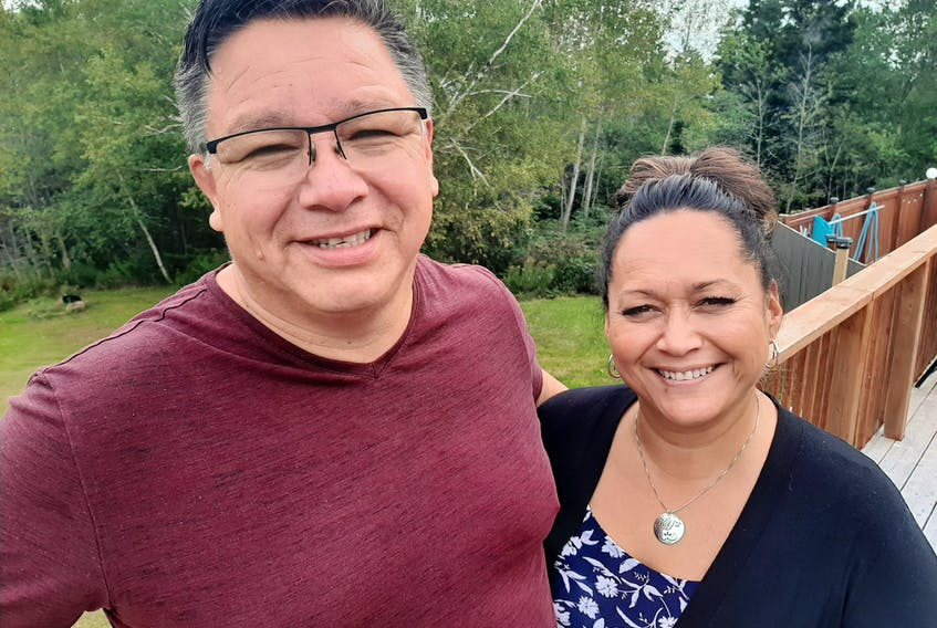 """Tom and Carol Anne Johnson of Eskasoni First Nation are making a name for themselves in the film and television industry as the go-to team for Mi'kmaw language translation. The couple's lastest project was the independent film """"Wildhood,"""" for which they created the recordings for a fully dubbed Mi'kmaw version, which will be screened at the Atlantic Film Festival this weekend. ARDELLE REYNOLDS/CAPE BRETON POST"""