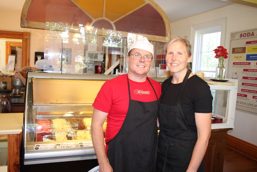 Ken and Jenny Meister, proprietors of Summerside's Holman's Ice Cream Parlour, have launched a $30,000 fundraising campaign to build a school for displaced children in Cameroon. Ken visited and worked in that country twice, in 2006 and 2009, once as part of a Canadian Armed Forces partnership project and again while doing research for his master's degree. Violence in the area they visited has resulted in the deaths or displacements of many of the people they worked with, so they are trying to do what they can for the children of the survivors.