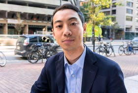 Toronto Ward 10 council candidate Kevin Vuong in Toronto, Ont. on Tuesday, Oct. 9 2018.