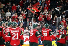 Halifax fans celebrate their Mooseheads after a crushing 4-2 defeat against the Rouyn-Norand Huskies in the 2019 Memorial Cup final at the Scotiabank Centre. There were extreme limits placed on attendance at all QMJHL games last season but restrictions will be lifted soon. - SaltWire