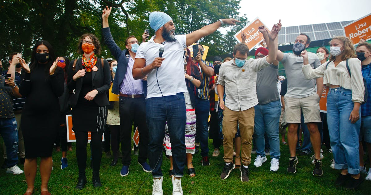 Singh attacks Liberal record on climate, housing, health care at Halifax rally | Saltwire