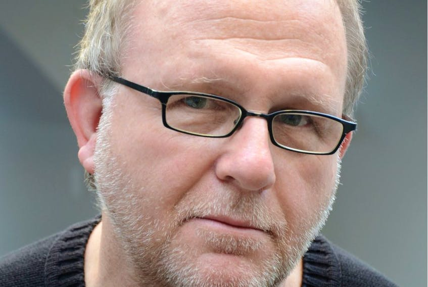 Author Wayne Johnston. Photo by Mark Raynes Roberts.