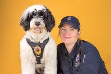 Const. Krista Fagan will soon be travelling to Columbus, Ohio, where the RNC's service dog, Stella, will be undergoing training to become a fully certified support dog.
