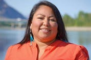 Anna Thomas, Cree Nlaka'pamux member of the Peguis and Lytton First Nations.