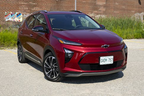 GM has now issued recalls for all of its Bolt electric vehicles for the possibility of the battery catching fire when it is charged to more than 90 per cent of its capacity. Postmedia News file
