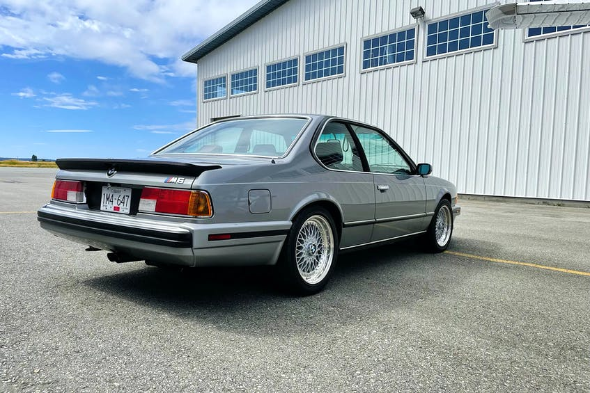 In its original Salmon Silver Metallic paint, Burt Malan's 1989 BMW M6 has never been restored. Contributed photo/Burt Malan - POSTMEDIA