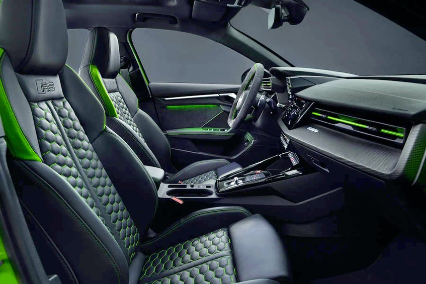 Inside, look for a typically Audi interior — which is to say sumptuous and well-crafted. Handout/Audi     - POSTMEDIA