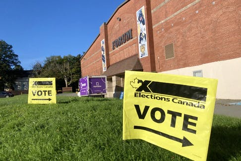 Polls opened in Nova Scotia at 8:30 a.m. and will be open for 12 hours.