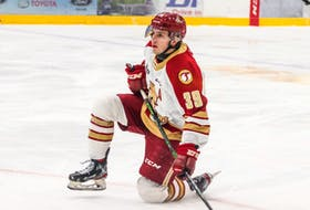 Logan Chisholm is looking forward to his fifth and final season of junior hockey in the QMJHL. The 20-year-old from Pomquet has been an alternate captain for the Acadie-Bathurst Titan for the past two years. This season he has been chosen to wear the 'C'. TYSON GRAY PHOTO