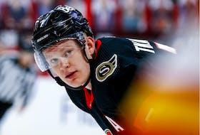 The Ottawa Senators' Brady Tkachuk