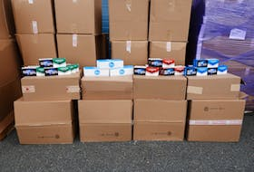 RCMP said police recieved a tip on Sept. 8 about a shipment of contraband cigarettes coming from Ontario to St. John's via private courier. The tobacco was seized following a search of the courier.