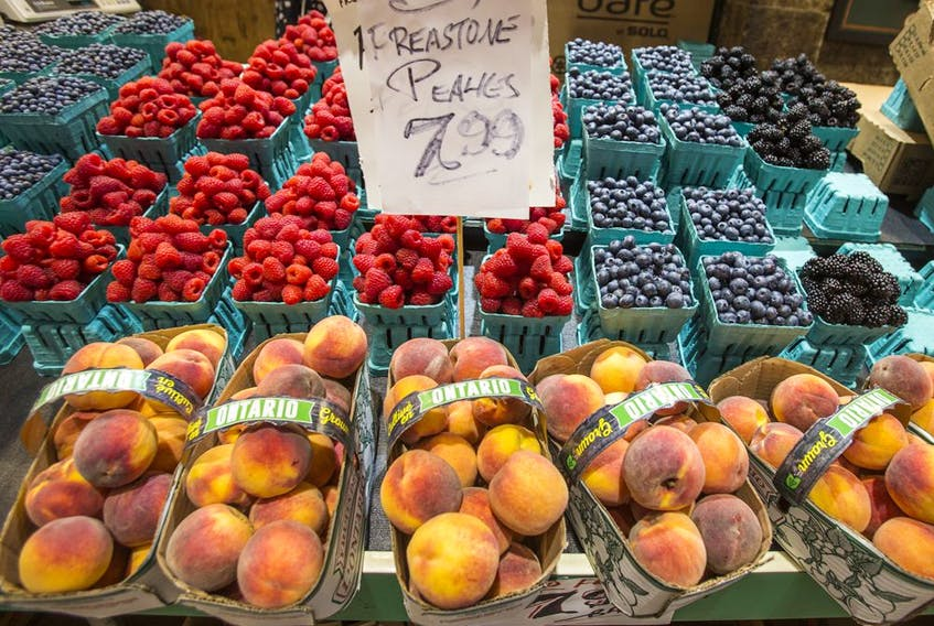 Produce at St. Lawrence Market in Toronto. Ernest Doroszuk/Toronto Sun/Postmedia