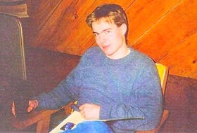 This photo of Kenley Matheson was taken shortly before he disappeared on Sept. 21, 1992 while attending Acadia University in Wolfville, N.S. CONTRIBUTED