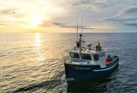 The 20-ft fishing boat The Island Lady and her crew, Mark Russell and Joey Jenkins, were reported missing Friday, Sept. 17, after they failed to return from a cod fishing trip near Battle Harbour.