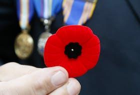 Files: Veteran with a poppy