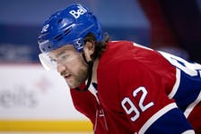 """""""I've had anxiety problems for many years,"""" the Canadiens' Jonathan Drouin said. """"Insomnia problems that relate to my anxiety."""""""
