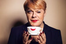 British comedian and actor Eddie Izzard returns to Halifax for two nights at the Rebecca Cohn Auditorium for her Wunderbar tour, Nov. 2 and 3. - Amanda Searle