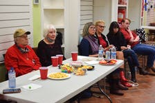 Supporters watched results live on TV at Lenore Zann's Liberal campaign office. The Liberals took some losses in the region.