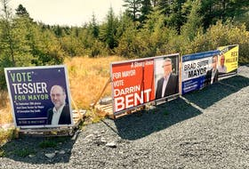 Most of the federal candidates' signs are gone now that the Canadian election is over, but there are still plenty of signs for municipal candidates, who are looking to get elected on municipal election day Sept.28.