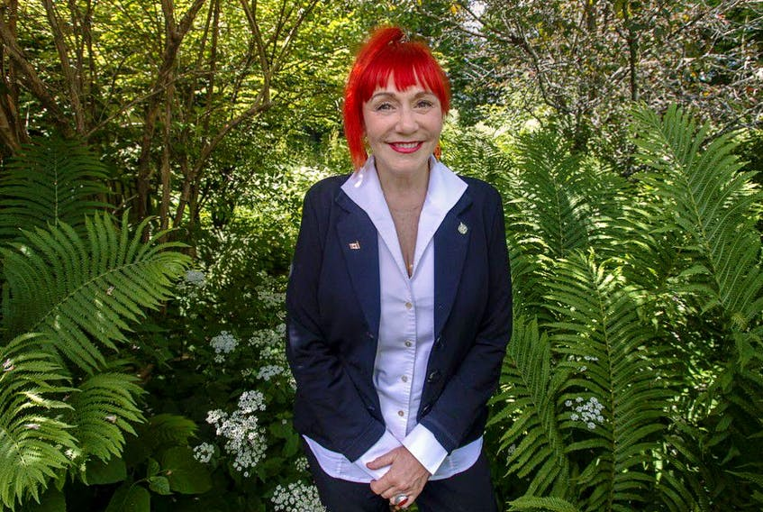 Lenore Zann, Member of Parliament for the riding of Cumberland-Colchester, at home in Truro, N.S., on Friday, July 3, 2020.