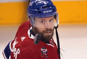 Canadiens defenceman Shea Weber.