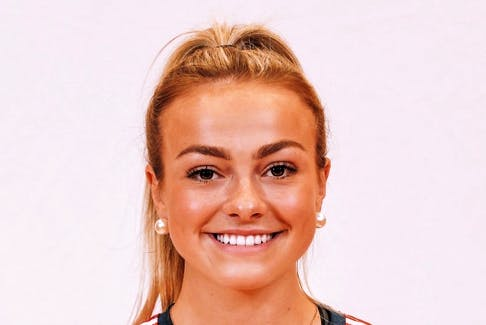 Rebecca LeBlanc of Coxheath is currently playing in her first season with the Acadia Axewomen soccer team. The 20-year-old first played university soccer with the Ottawa GeeGees in 2019-20 but transferred to Wolfville last season.