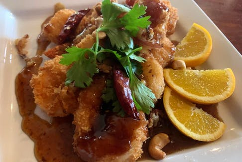 Shrimp in tamarine sauce is one of Pat Satasuk's personal favourite dishes.