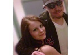 Courtney Pike with her brother, Gregory. Pike believes her brother was failed by this province's correctional system. He died in hospital in St. John's last week after committing suicide at Her Majesty's Penitentiary on Sept. 15.