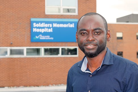Dr. Jerry John Asiedu joined the Middleton Collaborative Practice as a full-service family doctor and as a staff physician at Soldiers Memorial Hospital on Sept. 20.