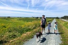 Heather Fegan's family enjoyed their hike along the Atlantic View Trail, part of the Trans Canada Trail system near Cole Harbour.