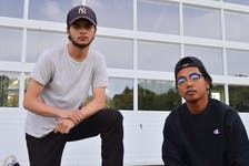 Kerry McCarthy, left, and Brian Lawt are two of the hip-hop artists who will be performing at the Small Island Dreamers concert in Charlottetown's Victoria Park from 6-11 p.m. on Saturday, Sept. 25.