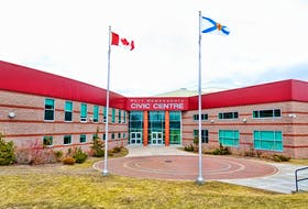 The Port Hawkesbury Civic Centre houses an arena, fitness centre and municipal offices. Deputy Mayor Blaine MacQuarrie says each of these should not have to separately handle asking for proof of vaccination. — CONTRIBUTED