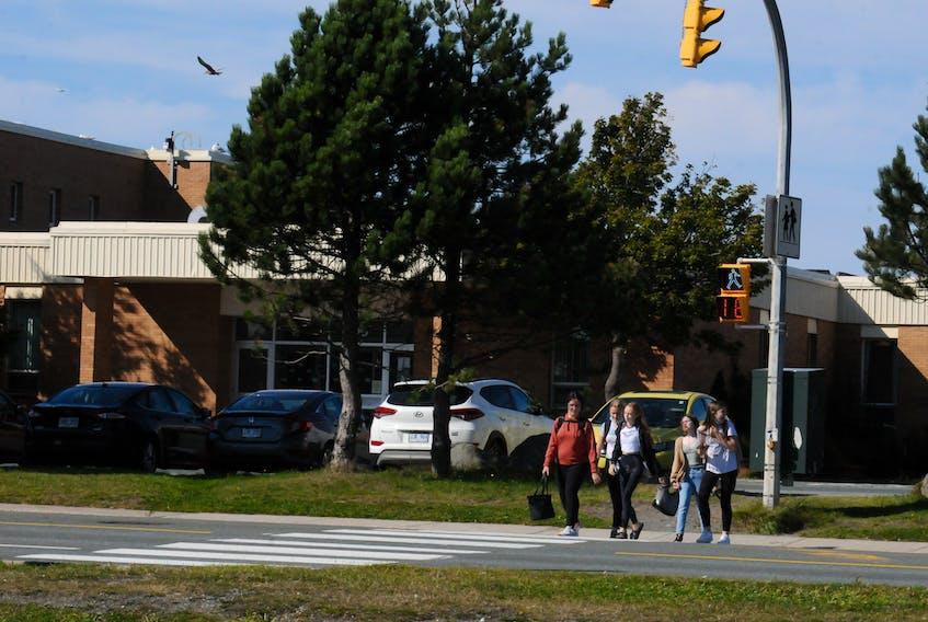 MacDonald Drive Elementary school in the east end of St. John's. -Joe Gibbons/The Telegram