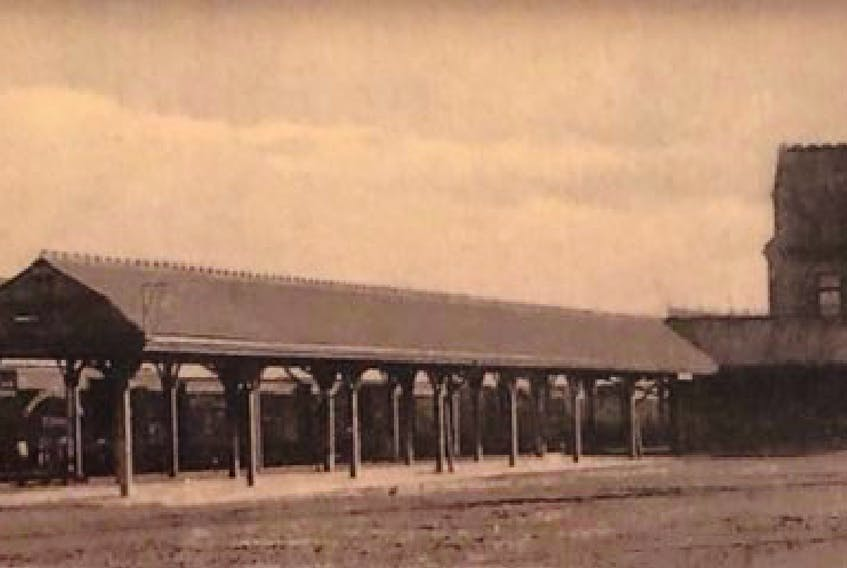 Sydney's Canadian National Railway station was built by the Chappell Brothers. Submitted Photo.
