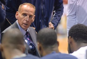 Mike Leslie, a former athletic director at Three Oaks Senior High School in Summerside and principal at Kinkora Regional High School, has assumed the head-coaching role with the Acadia University men's basketball team on an interim basis. Leslie previously worked with the National Basketball League of Canada's Halifax Hurricanes.
