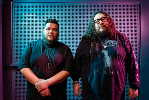 Electronic pow wow duo the Halluci Nation (formerly A Tribe Called Red) headline the Saturday night Hopscotch concert on Grand Parade's Grand Oasis Stage. - Rémi Thériault