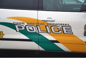 Cape Breton Regional Police members are investigating after a vehicle windshield was broken in Sydney on Sept. 21.