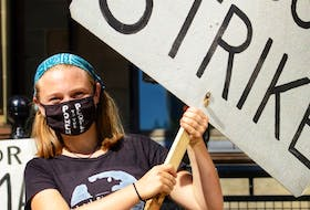 Lilian Hougan-Veenma, a Grade 12 student at Citadel High School in Halifax, is part of Climate Strike Halifax, a group that has organized a climate justice rally for Friday at noon. - Contributed
