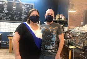 Lindsay and Paul Corbin are the owners of a new coffee shop in Stellarton.
