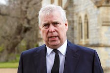 Britain's Prince Andrew pictured in this file photo.