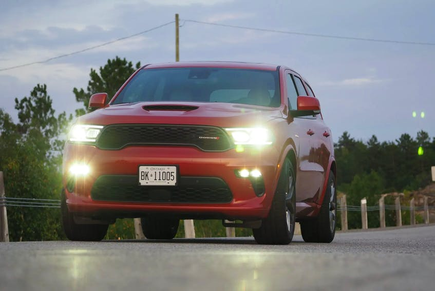 The Tow 'n Go option offers a performance-enhanced version of the Durango R/T that gets significant upgrades to its looks, handling, and towing capacity. Justin Pritchard/Postmedia News