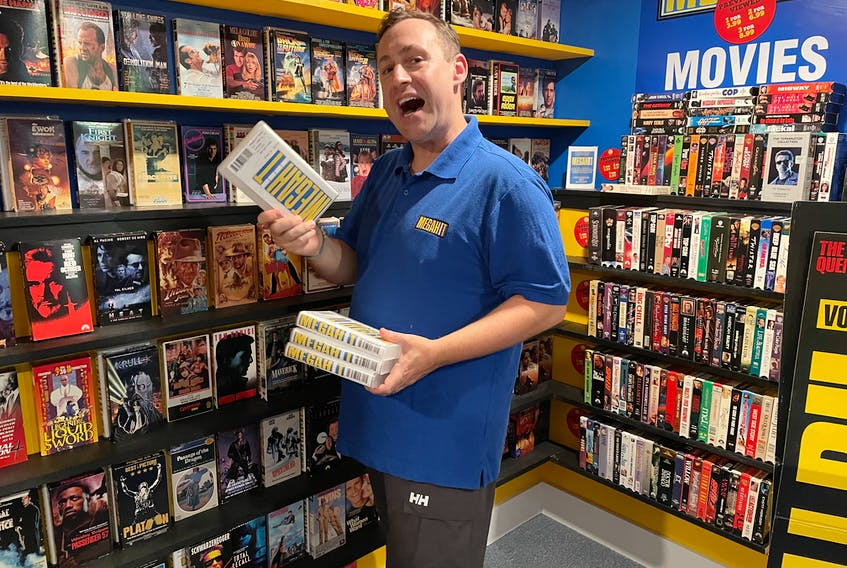 """Corey Lynch is ready to give you some Friday night movie recommendations, if you're interested. He describes his Megahit Video project as """"your virtual neighbourhood analog video store for the digital age."""""""