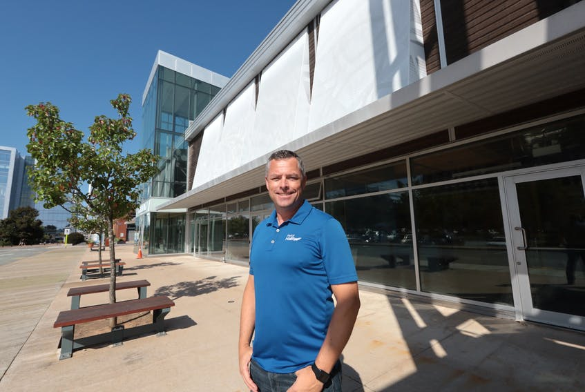 There's a lot of construction going on as the Halifax Port Authority is renovating the former Waterfront Farmers Market. Lane Farguson, communications manager at the port says construction on new retail spaces are planning to open for November.