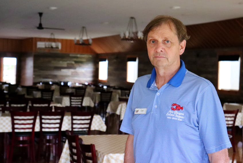 Carl Nicholson, the general manager of New Glasgow Lobster Suppers, says after a slow start to the 2021 tourist season, business picked up in August.