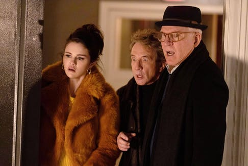 Selena Gomez, Martin Short and Steve Martin star in Only Murders In The Building, a new comedy-mystery series on Disney+.   DISNEY