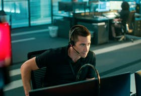 """""""What is the nature of your emergency?"""" Jake Gyllenhaal in The Guilty."""