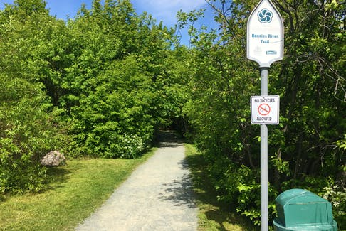 Bicycles are currently not permitted on the city's Grand Concourse trails.
