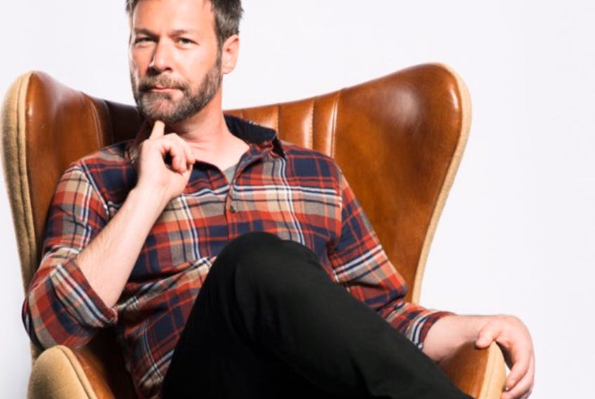 Canadian writer, actor and comedian Jon Dore will be performing at the Inverness County Centre for the Arts on Dec. 10 and 11. CONTRIBUTED