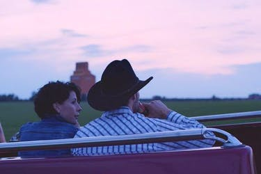 Alana Hawley Purvis and Chad Brownlee in Range Roads.