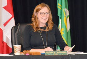 Mayor Amanda McDougall says the CBRM will lower flags to half-mast to mark the sombre discovery of 215 bodies found near the site of a former Kamloops residential school. DAVID JALA/CAPE BRETON POST FILES